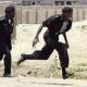 policemen running