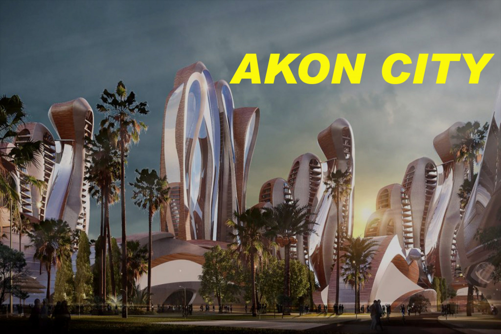 Akon city  for senegal