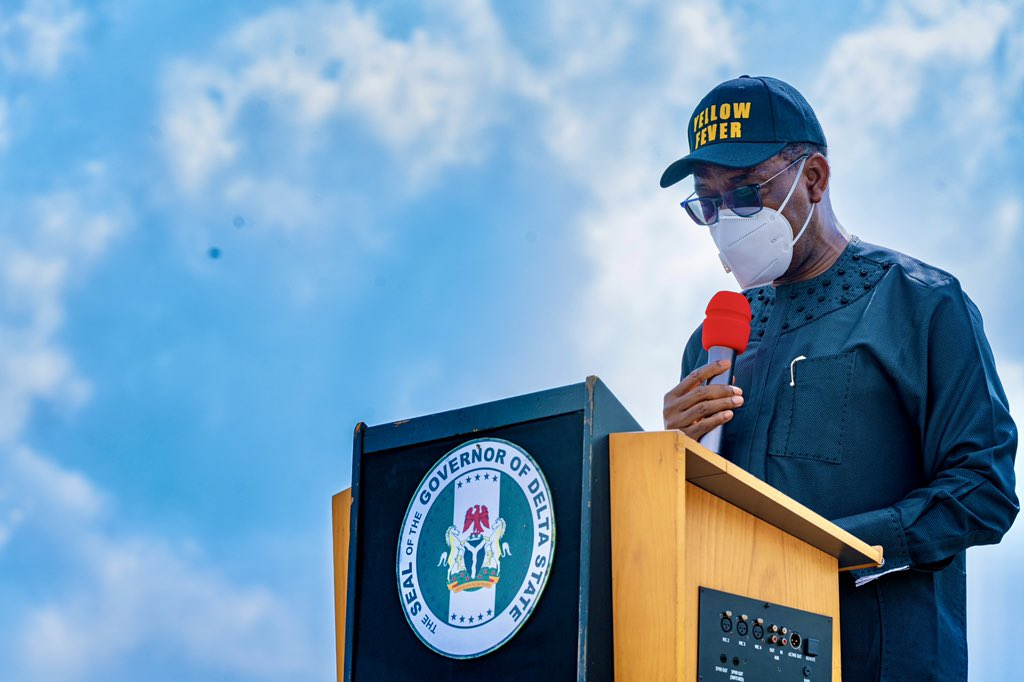 Dr. Ifeanyi A. Okowa, Governor, Delta State [Image Source:Twitter@DSgovernment]
