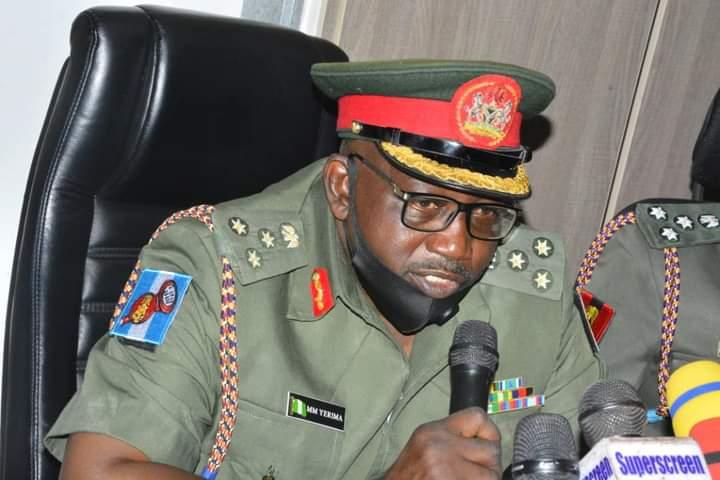 Brigadier General, Mohammed Yerima